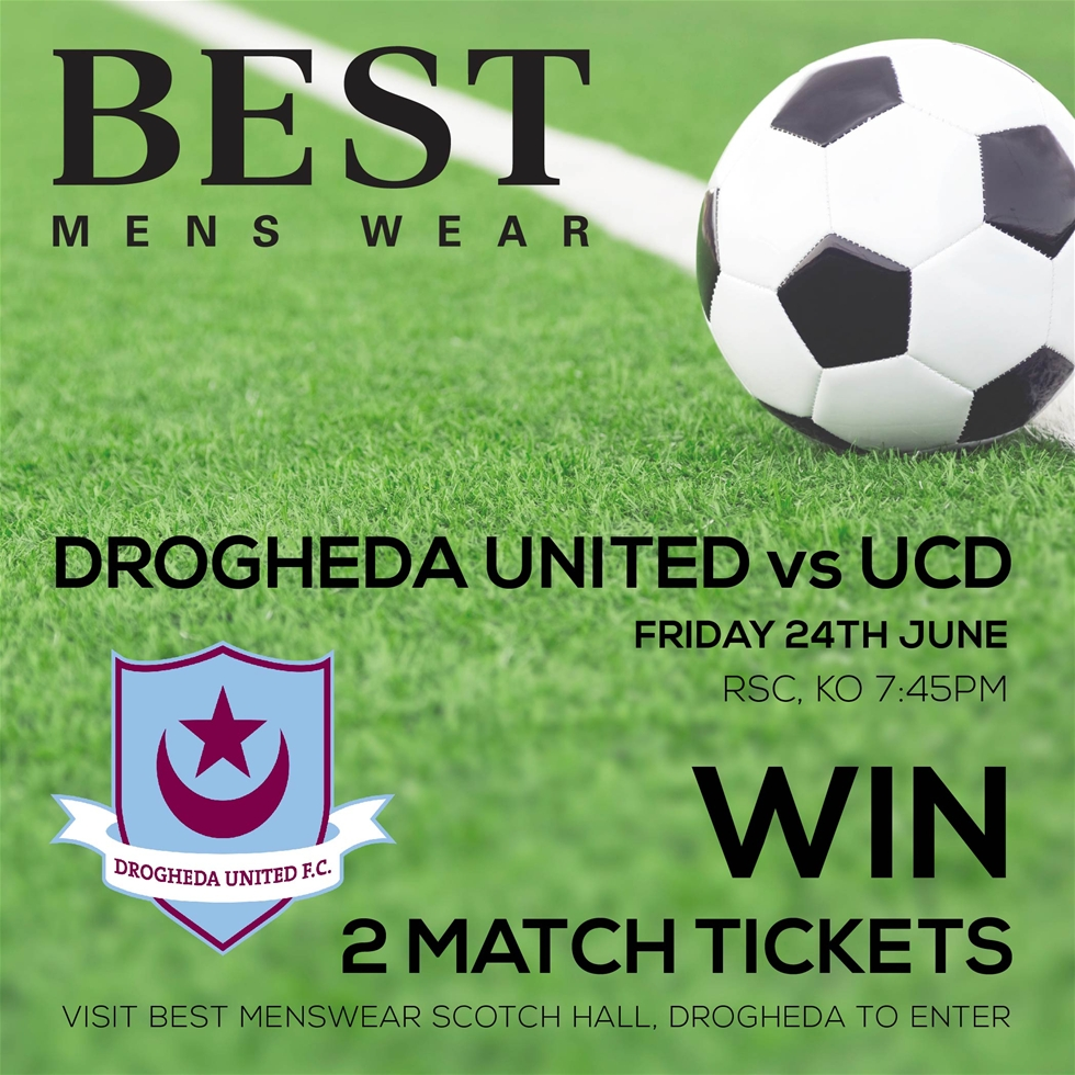 Drogheda Ticket Giveaway