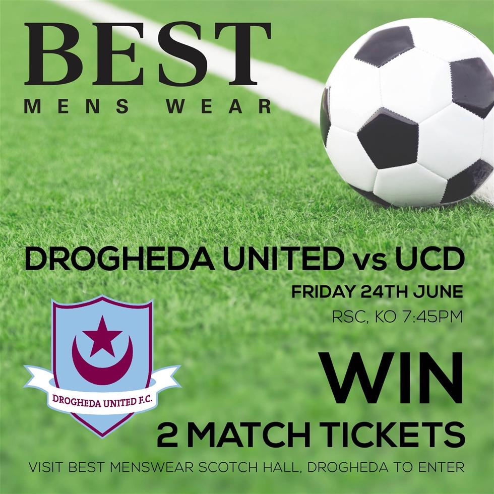 Drogheda Ticket Giveaway