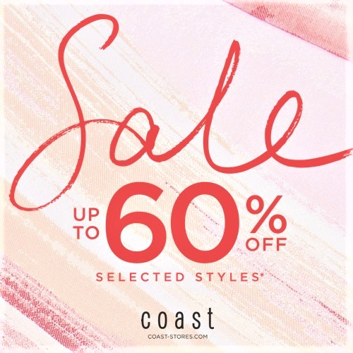 coast SALE up to 60% OFF