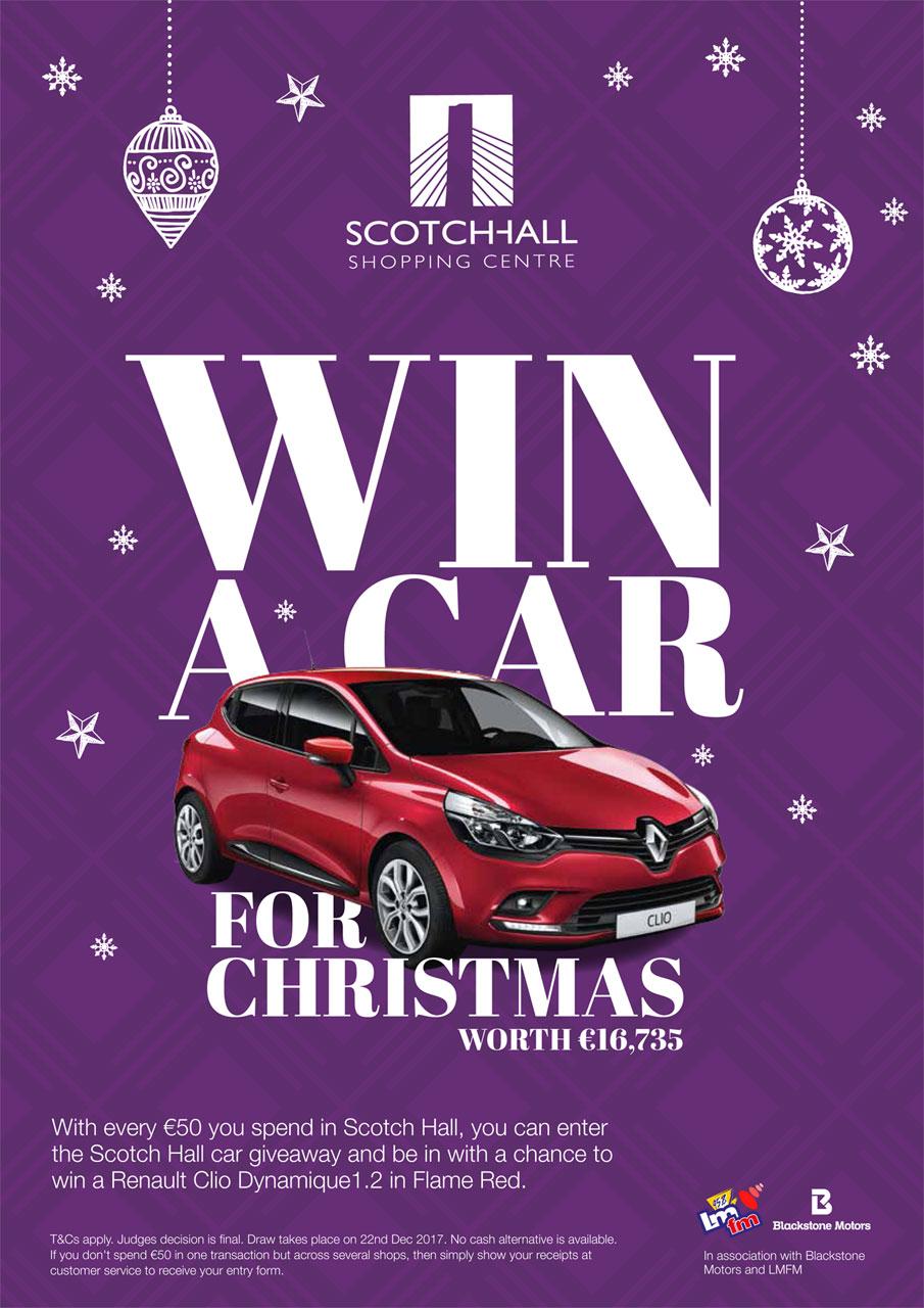 Win A Car For Xmas Scotch Hall Shopping Centre