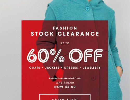 Fashion Stock Clearance in Carraig Donn