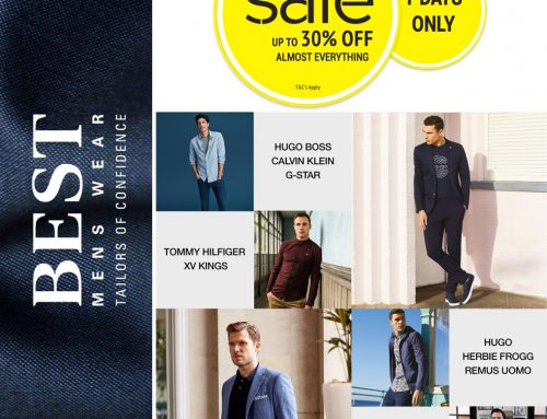 Best Menswear Mid Season SALE