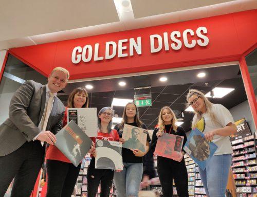 GOLDEN DISCS NOW OPEN